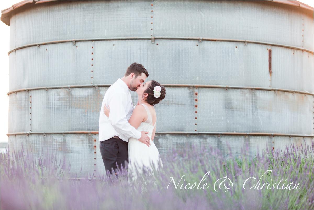 Pageo Lavender Farm wedding in Turlock, CA. Photos by Briana Calderon Photography based in the San Francisco Bay Area in California.
