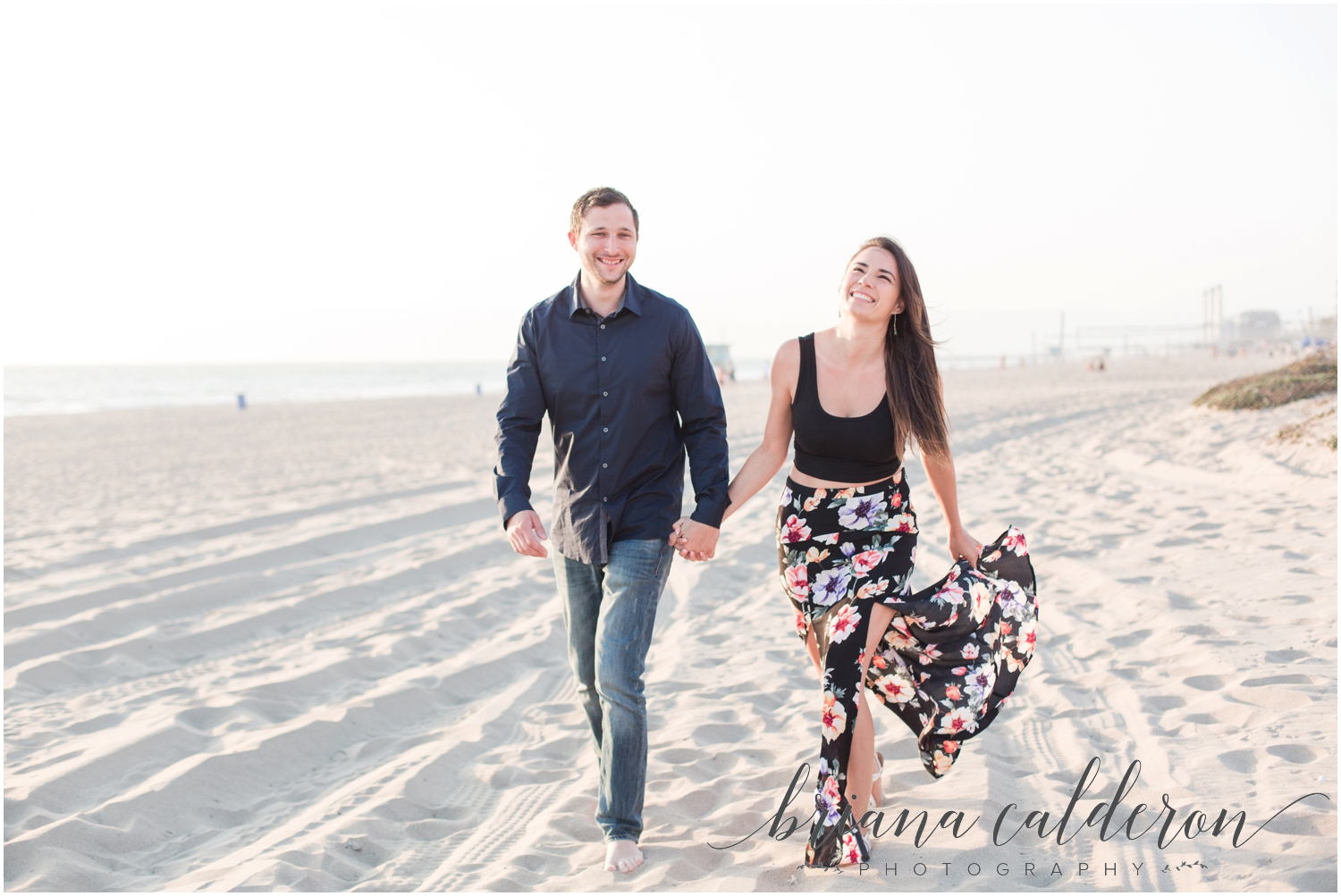 LA Beach Engagement Photos by Briana Calderon Photography_0807.jpg