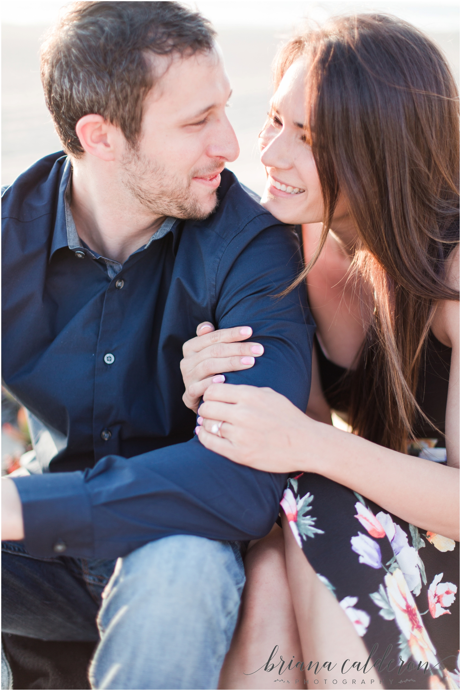 LA Beach Engagement Photos by Briana Calderon Photography_0805.jpg
