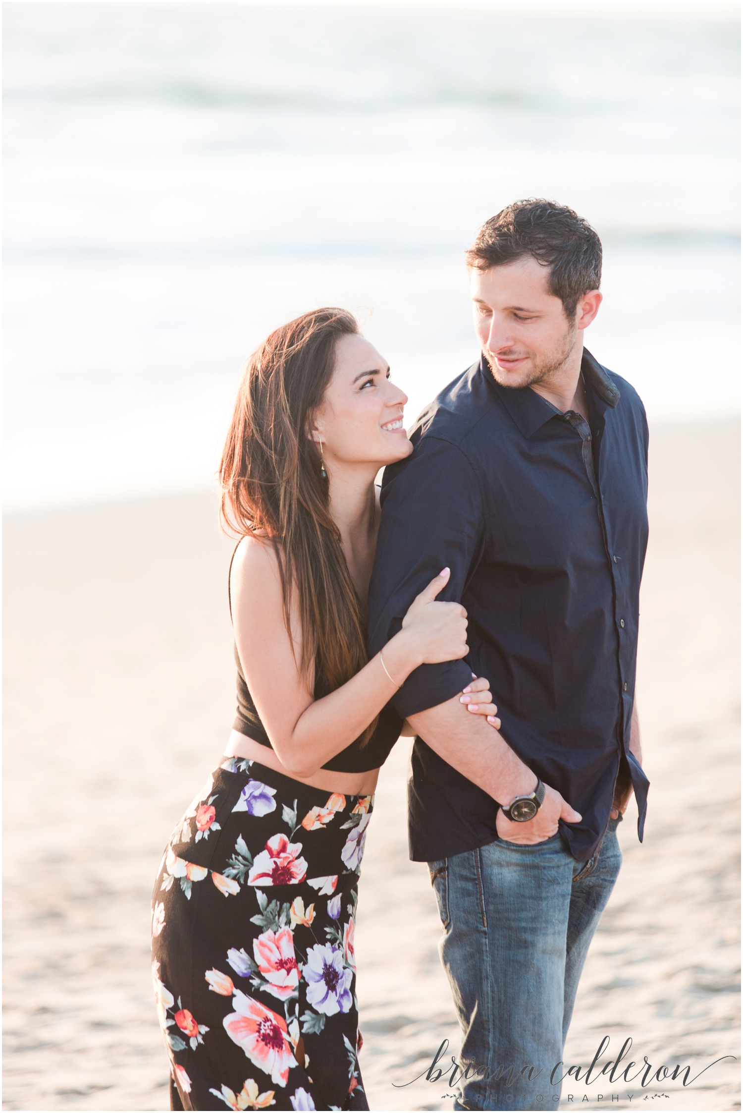 LA Beach Engagement Photos by Briana Calderon Photography_0822.jpg