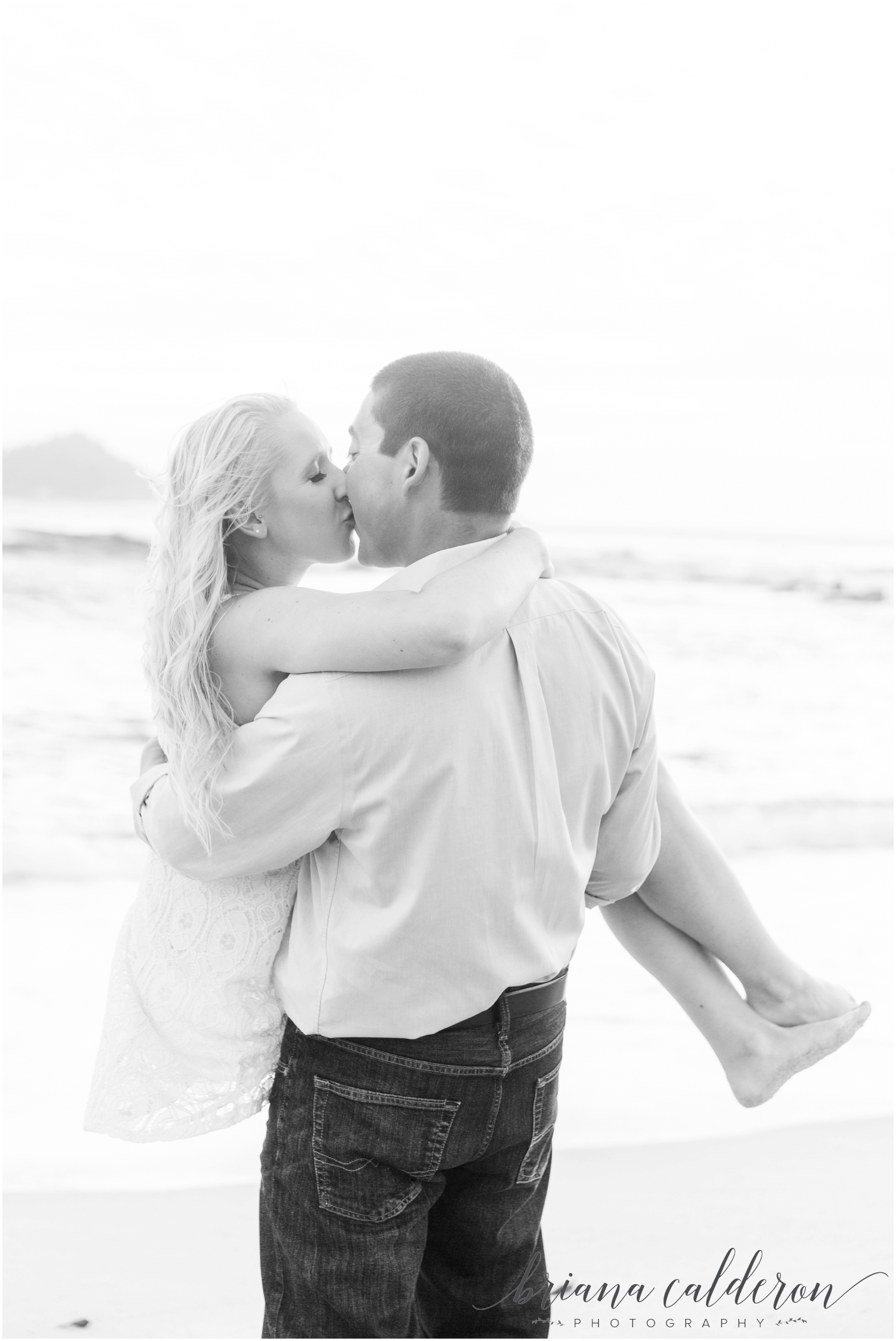 Carmel beach engagement pictures by Briana Calderon Photography_1173.jpg