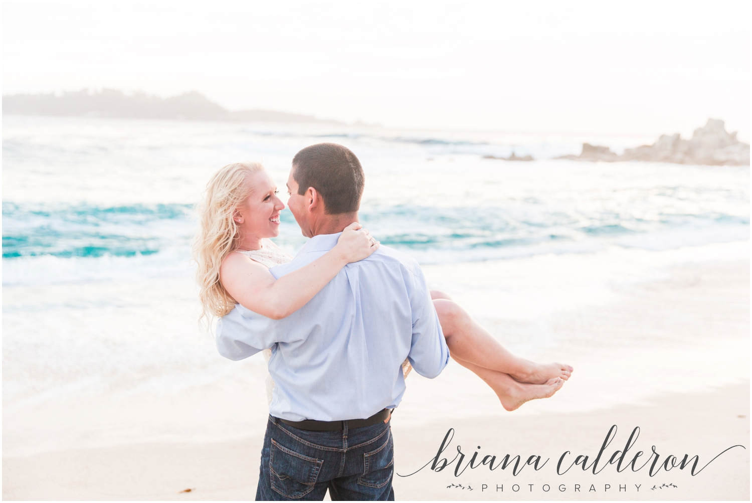 Carmel beach engagement pictures by Briana Calderon Photography_1172.jpg