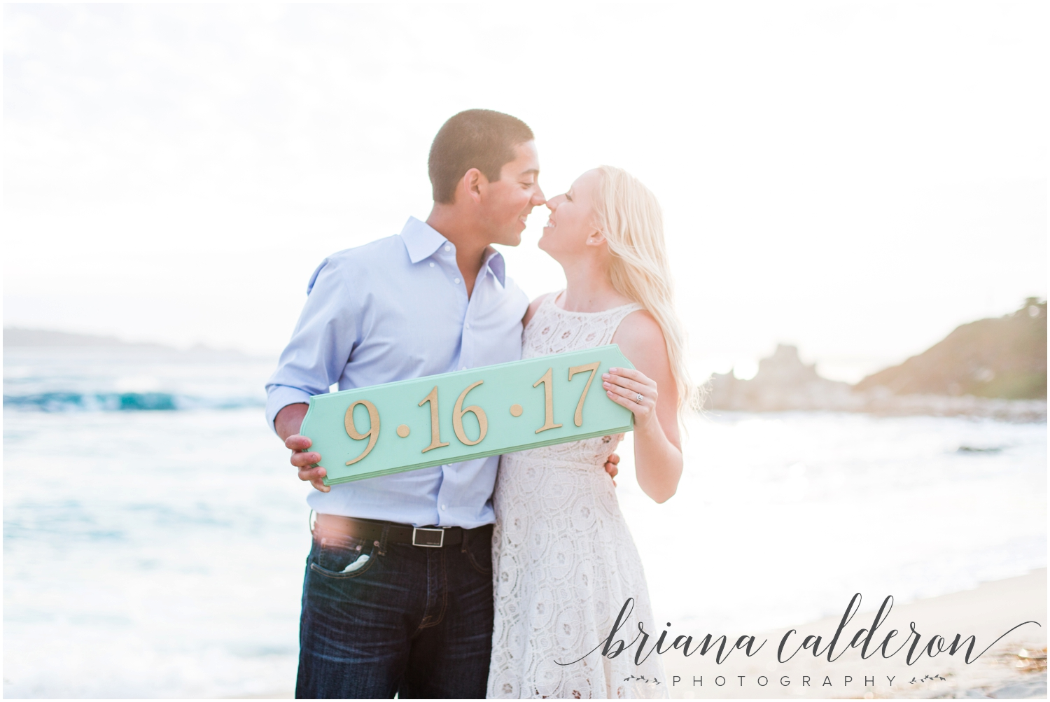 Carmel beach engagement pictures by Briana Calderon Photography_1167.jpg