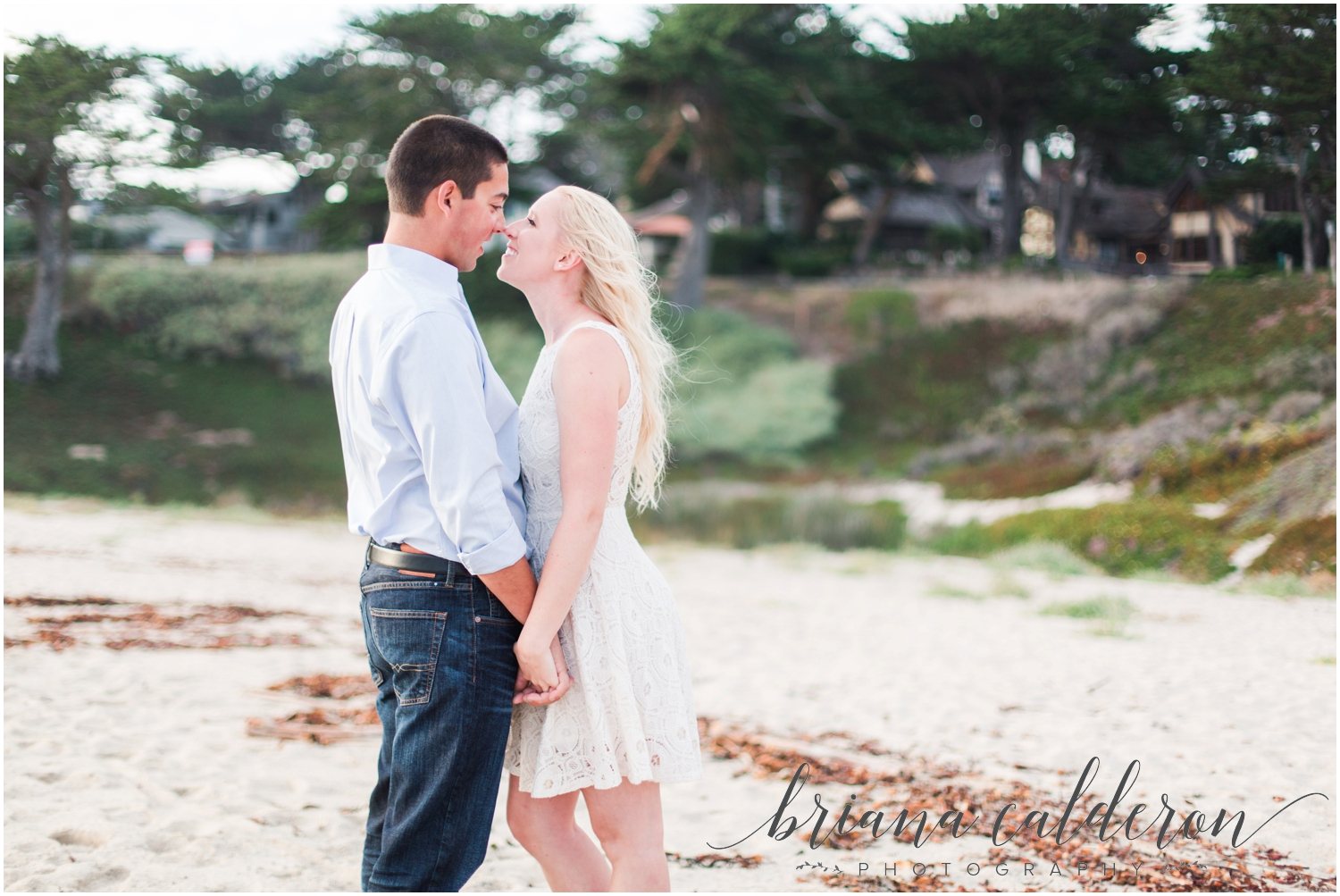 Carmel beach engagement pictures by Briana Calderon Photography_1163.jpg