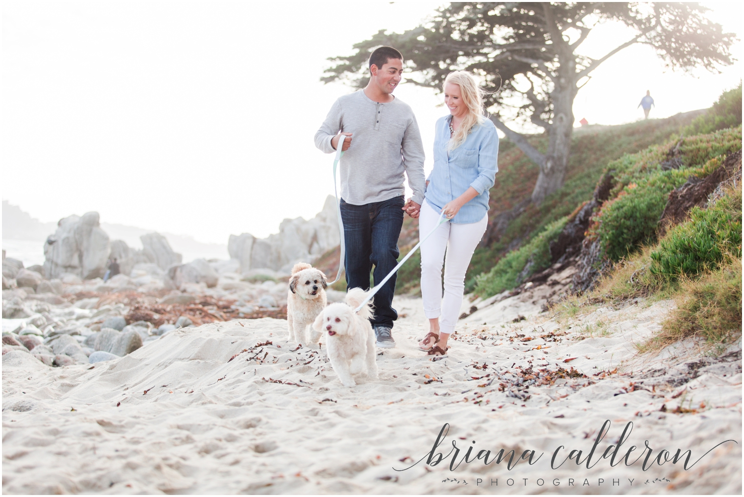 Carmel beach engagement pictures by Briana Calderon Photography_1157.jpg