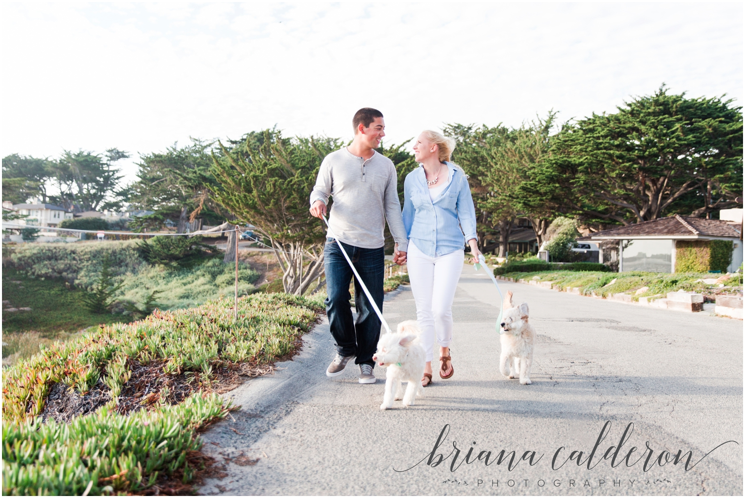 Carmel beach engagement pictures by Briana Calderon Photography_1146.jpg
