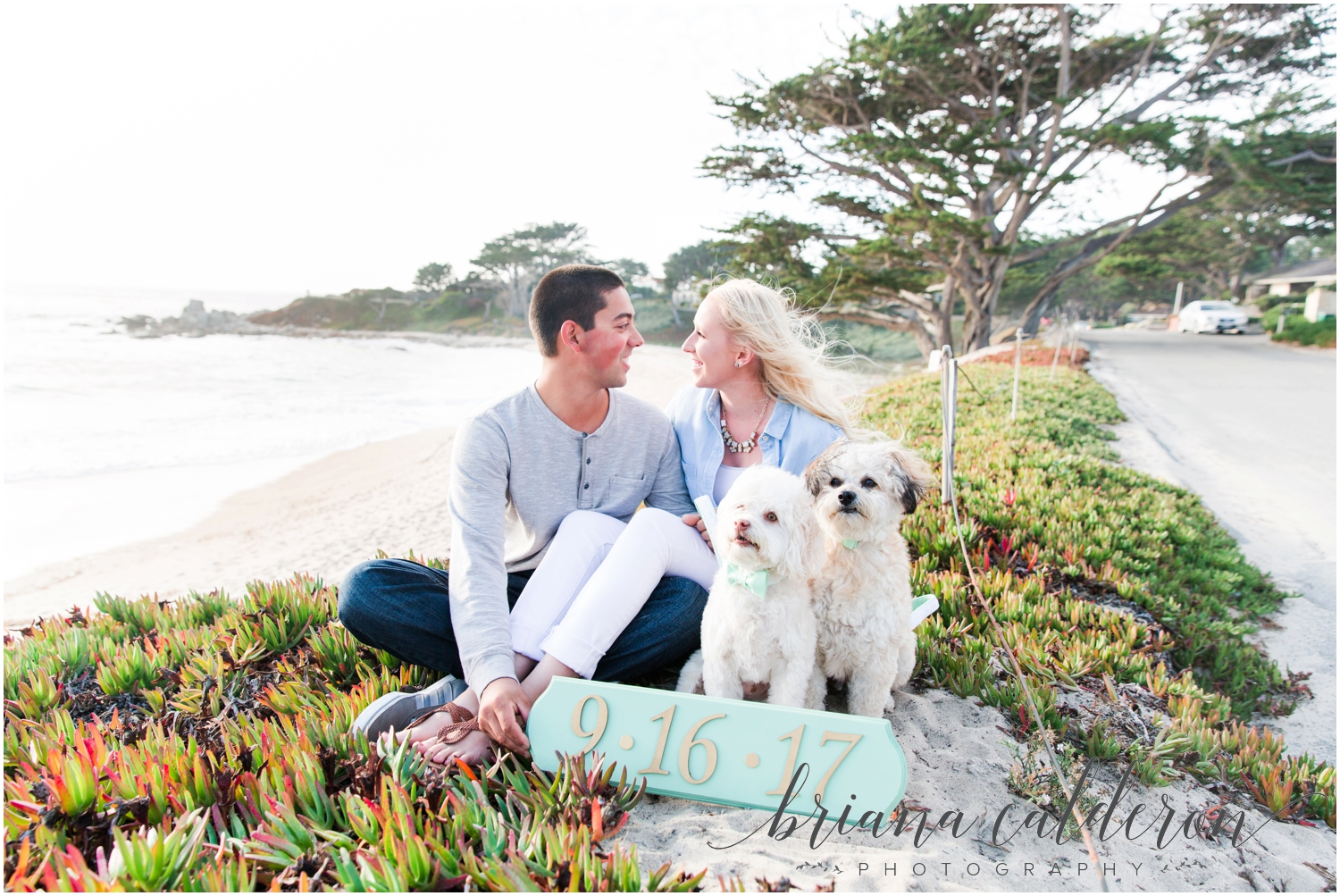 Carmel beach engagement pictures by Briana Calderon Photography_1145.jpg