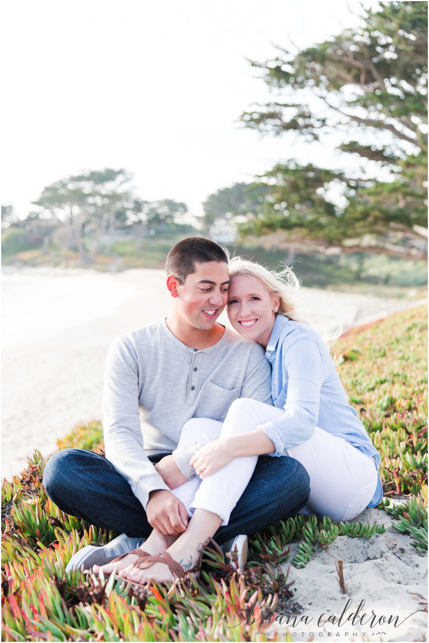 Carmel beach engagement pictures by Briana Calderon Photography_1144.jpg