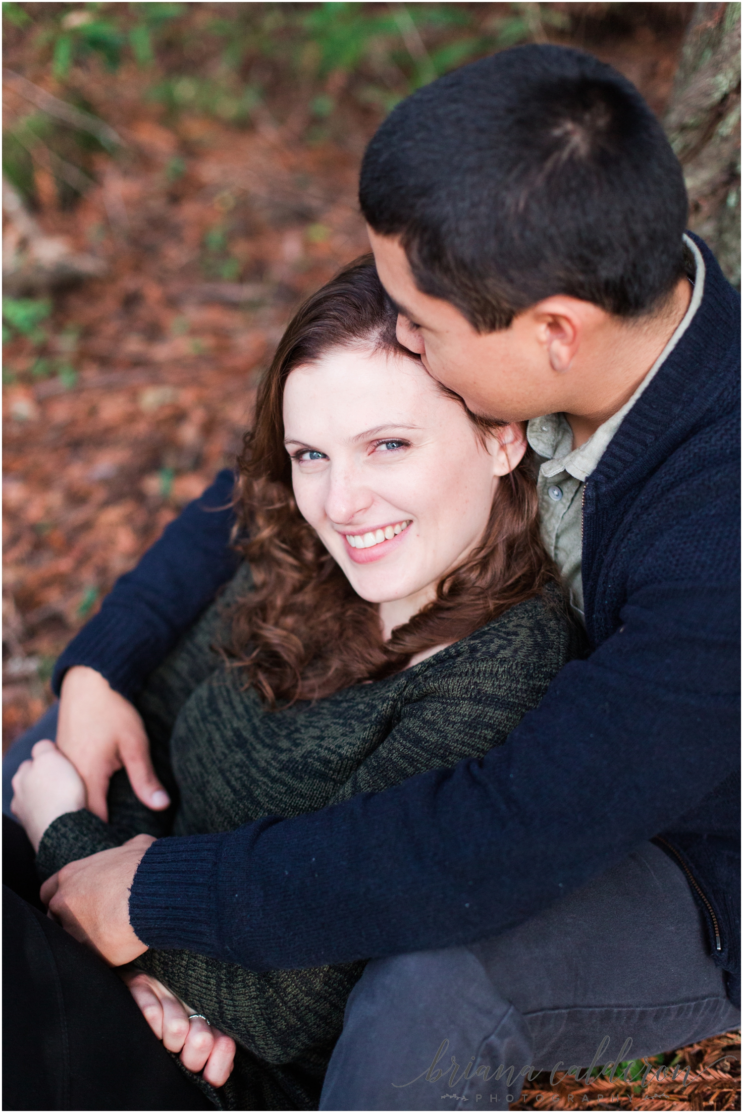 Engagement pictures at Henry Cowell Redwoods in Felton, CA by Briana Calderon Photography_1343.jpg