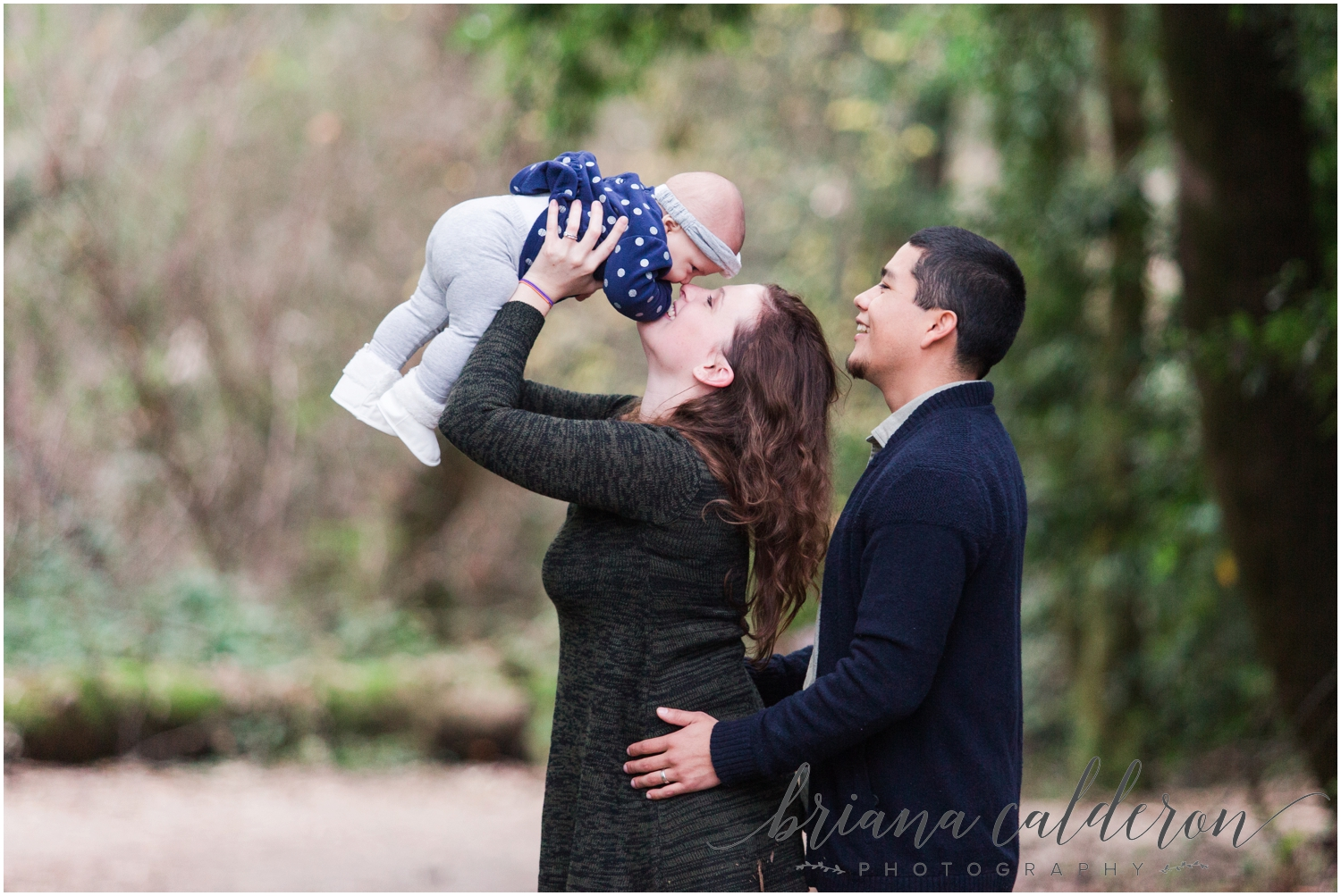 Engagement pictures at Henry Cowell Redwoods in Felton, CA by Briana Calderon Photography_1331.jpg