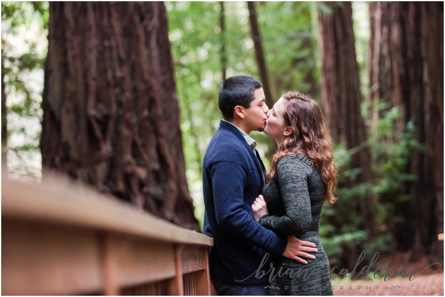 Engagement pictures at Henry Cowell Redwoods in Felton, CA by Briana Calderon Photography_1325.jpg