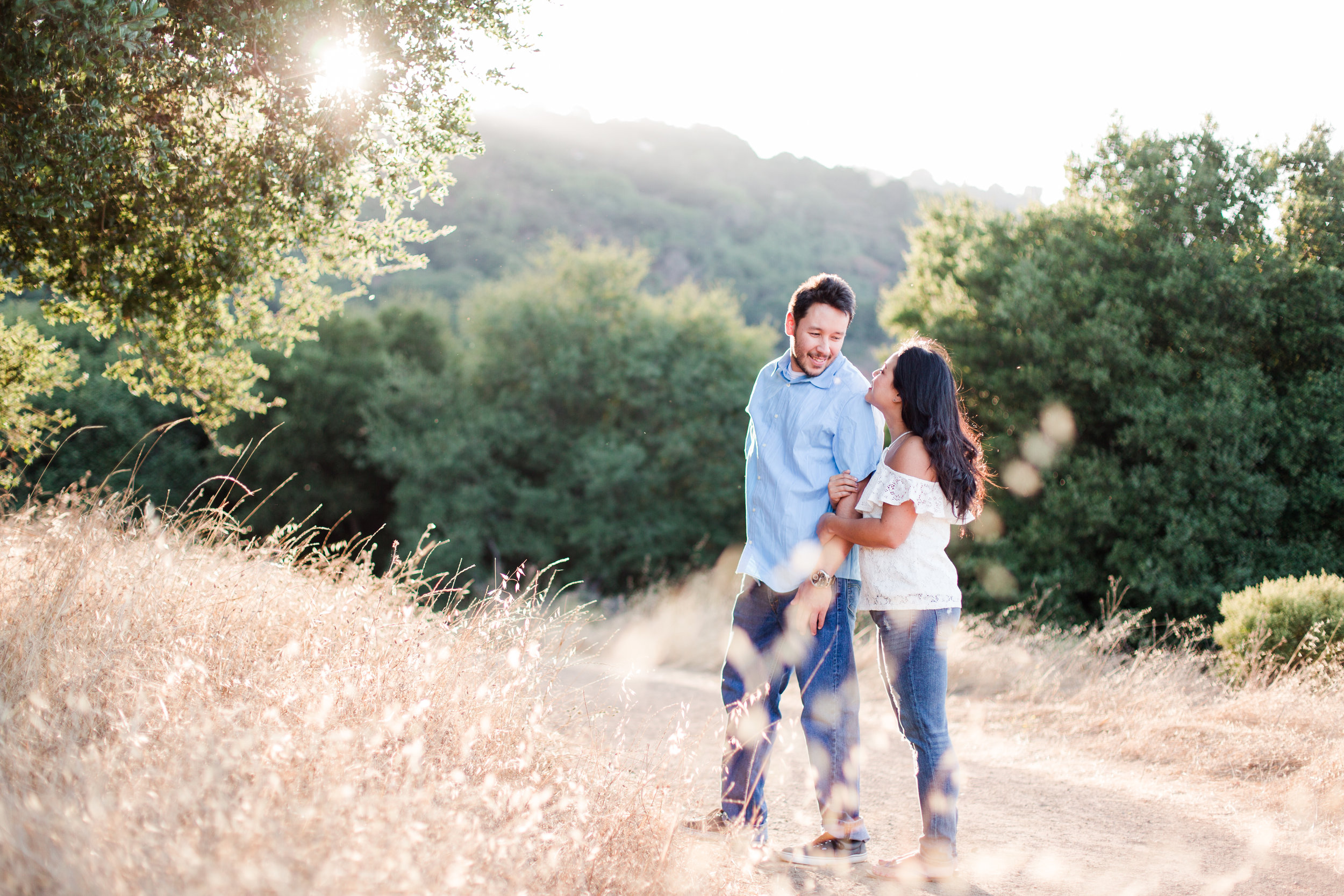 Picchetti Winery engagement photos