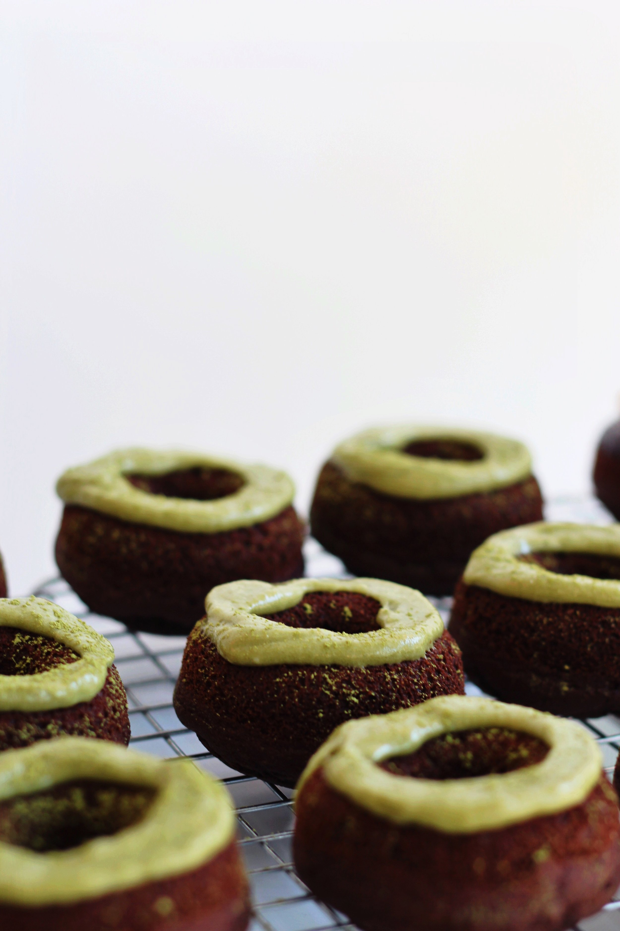 Green Slime Donuts