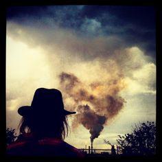 Smoke Stack with Lightning