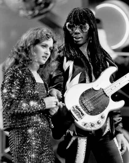 National TV Debut on Soul Train With Rick James:      Due to Motown's decision to not put her picture in the album artwork on the debut   Wild and Peaceful  , many didn't know what Teena looked like until the cover of her second album   Lady T  . But this is the first time she really gets to sing and strut her stuff on the national stage.     She elects to share that stage with her lifelong friend, onetime love interest, singer-songwriter/producer/mentor the one and only Rick James.  The electricity of these two's chemistry is apparent immediately.  Teena would go on to be one of the more masterful writers in the R&B/Soul genre over the next 30 years from here. But none of it would have been possible or at least not in any way the same were it not for the apprenticeship opportunities she was afforded under the wing of Rick James.