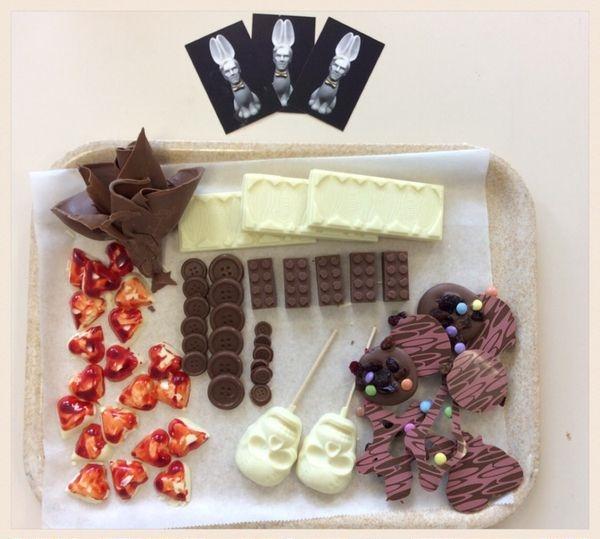 The Chocolatician's Creations