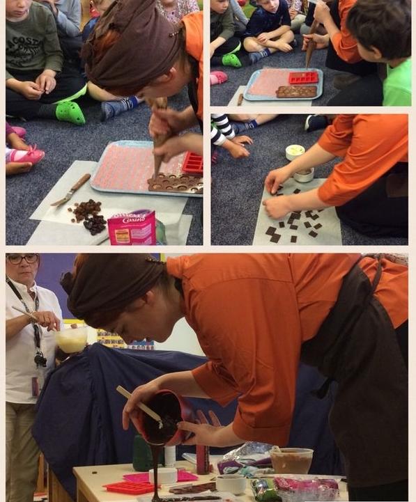 Chocolate demonstrations