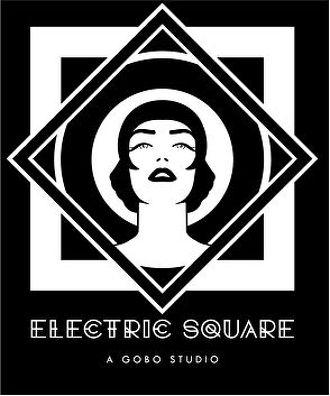 Electric square logo chocolatician