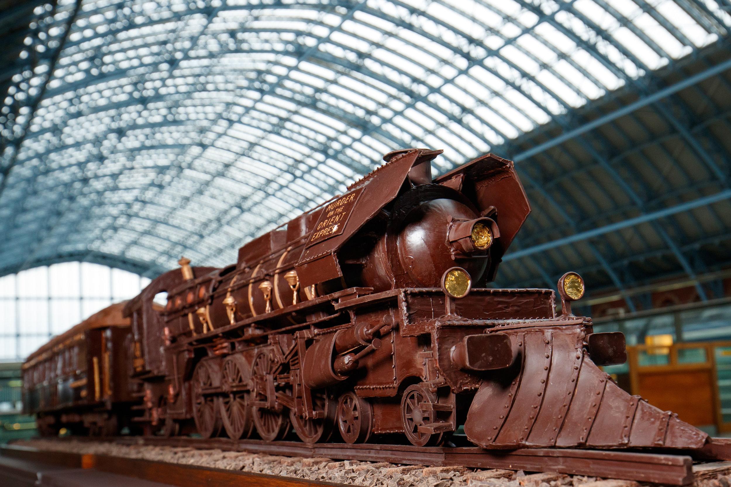 Chocolatician Orient Express St Pancras