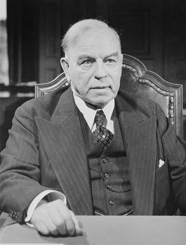 Prime Minister William Lyon Mackenzie King