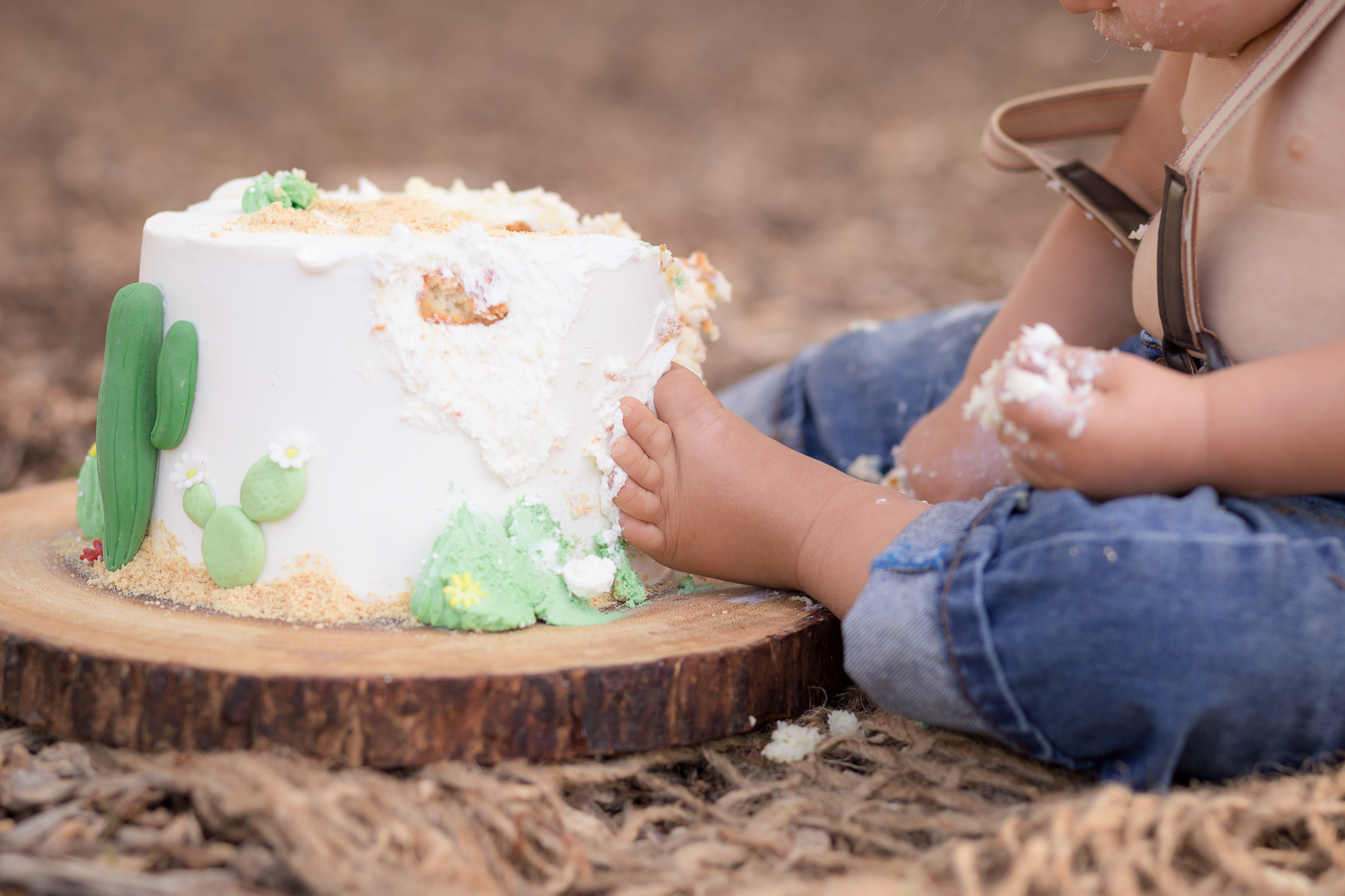 Cactus Cowboy Southwestern Cake Smash- Oh My Goddard Photography - San Diego Oceanside Cake Smash Photographer-22.jpg