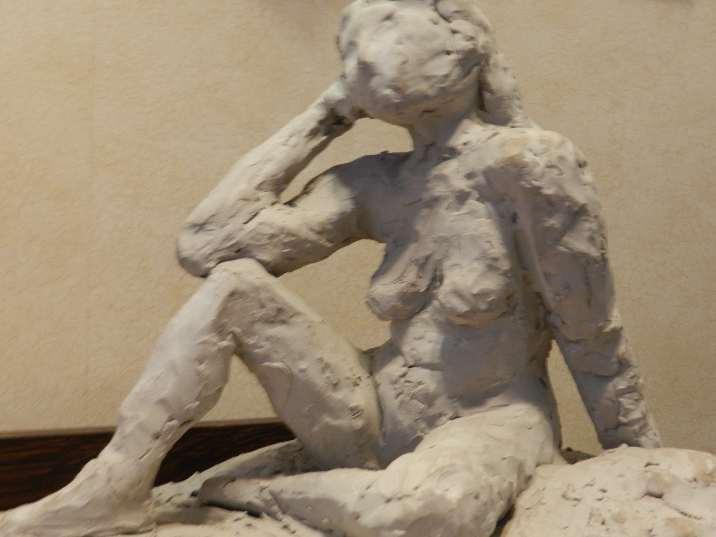 New York Studio School study in clay