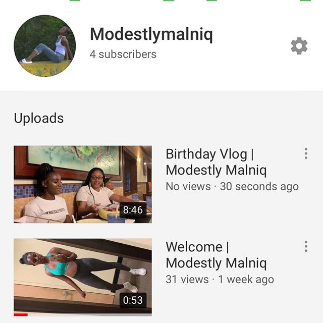 https://youtu.be/6BClfgqVEag Birthday Vlog is live now
