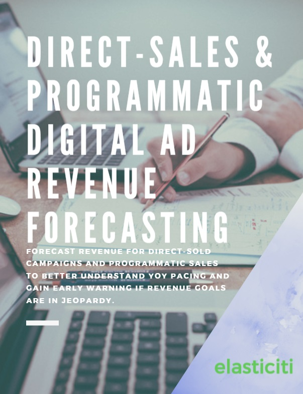 Direct-sales & programmatic digital ad revenue forecasting