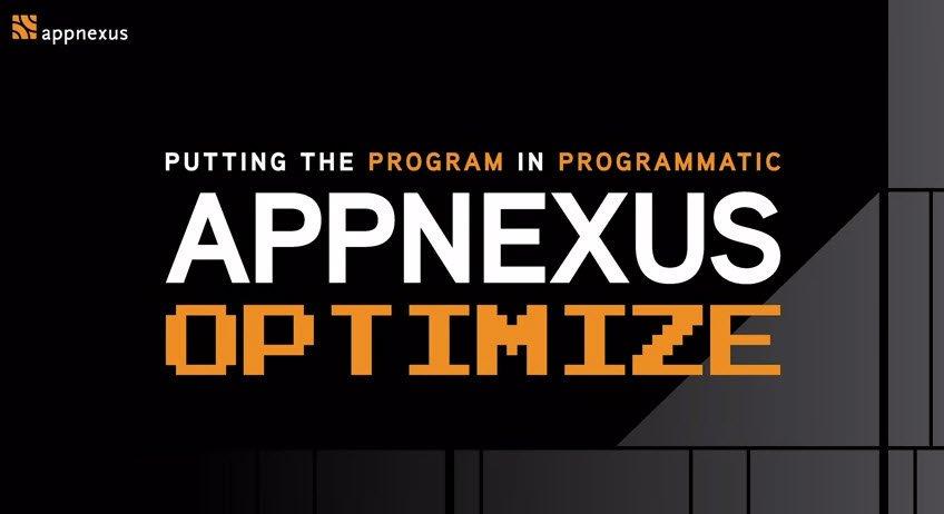Appnexus Optimize 2017 NYC