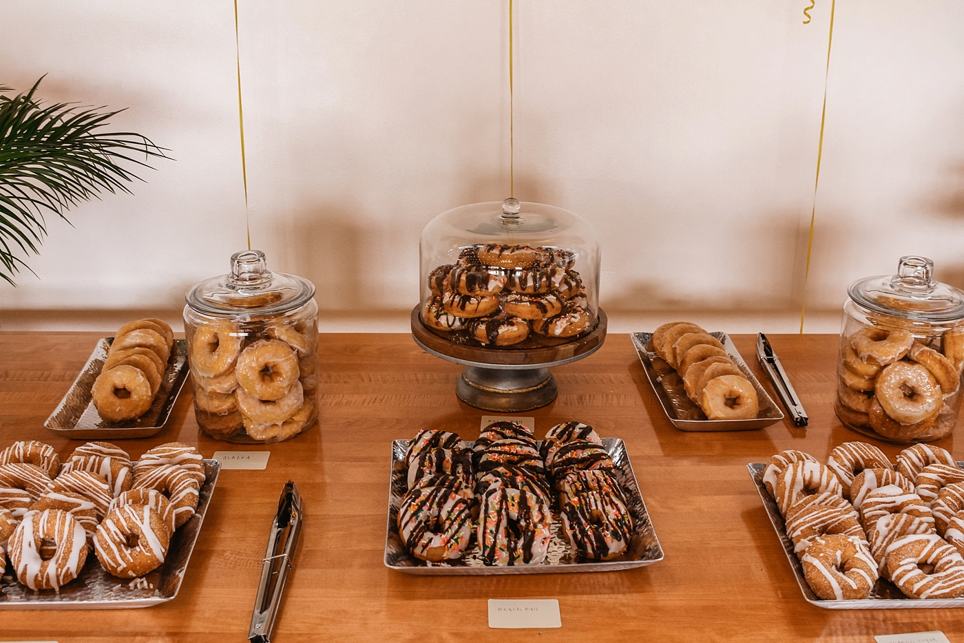 There's nothing better than a donut bar!