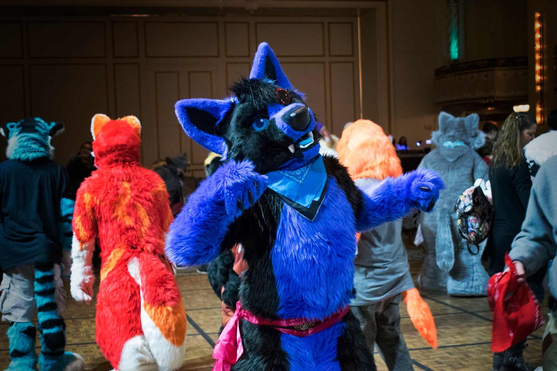 Boston's Annual Furry Convention - Every year, furries - fans of anthropomorphic characters - gather to have fun, share knowledge, and help local charities. We invite you to join us, come see what we're all about!Photo by Yeentography