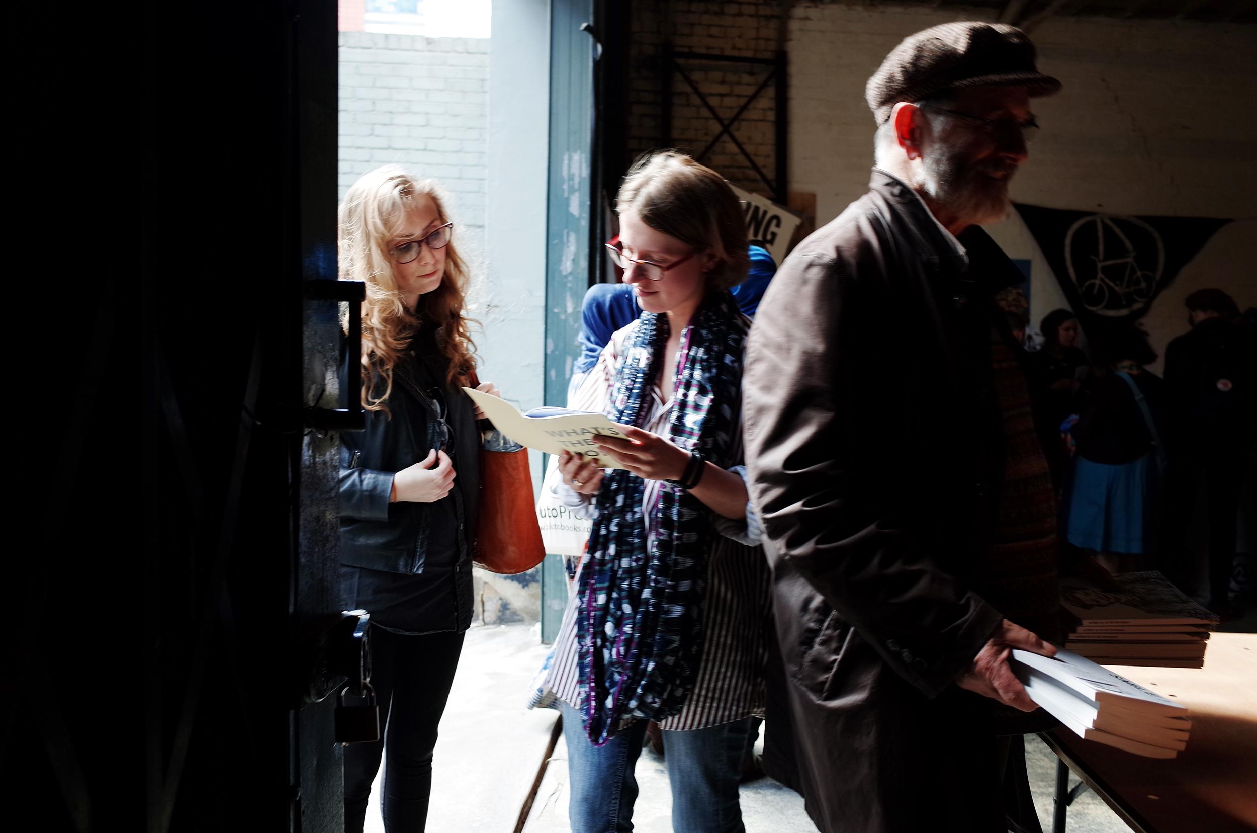 Takeover radical book fair, London, 2015