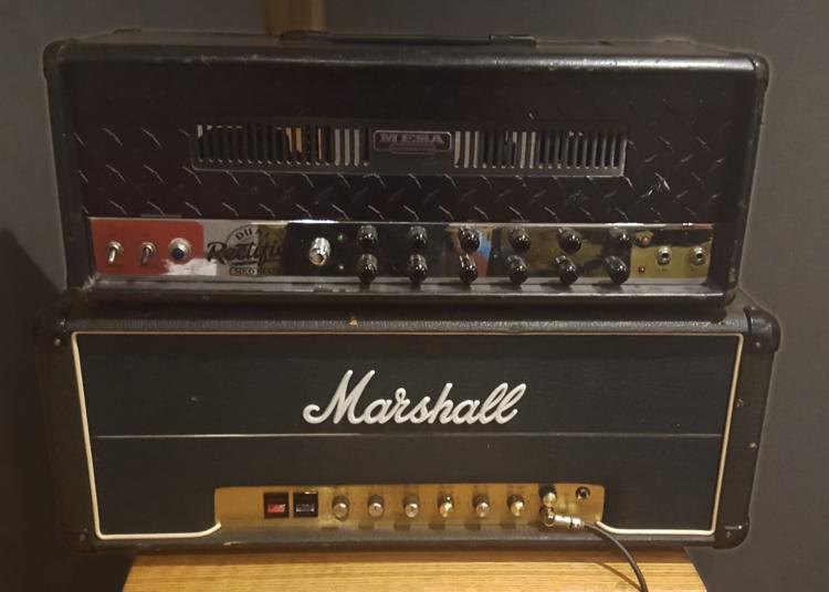 Mesa Dual Rectifier and Marshall JMP