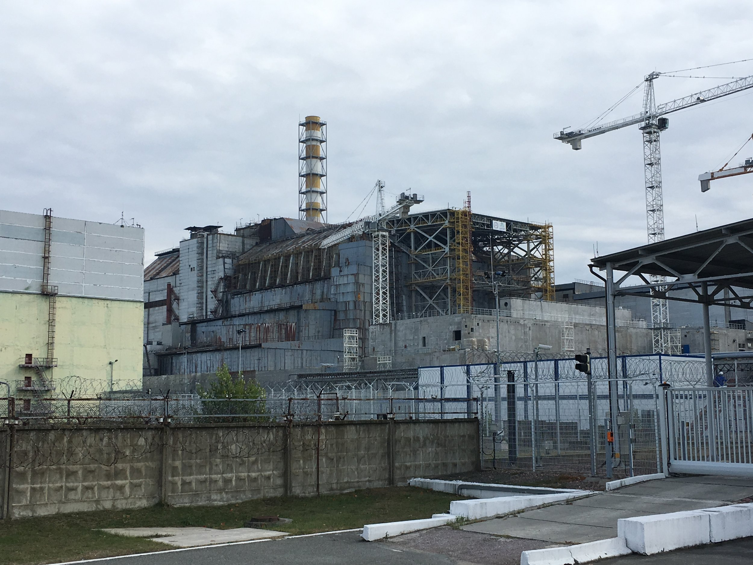 Chernobyl reactor 4, where the nuclear meltdown occurred on April 26, 1986