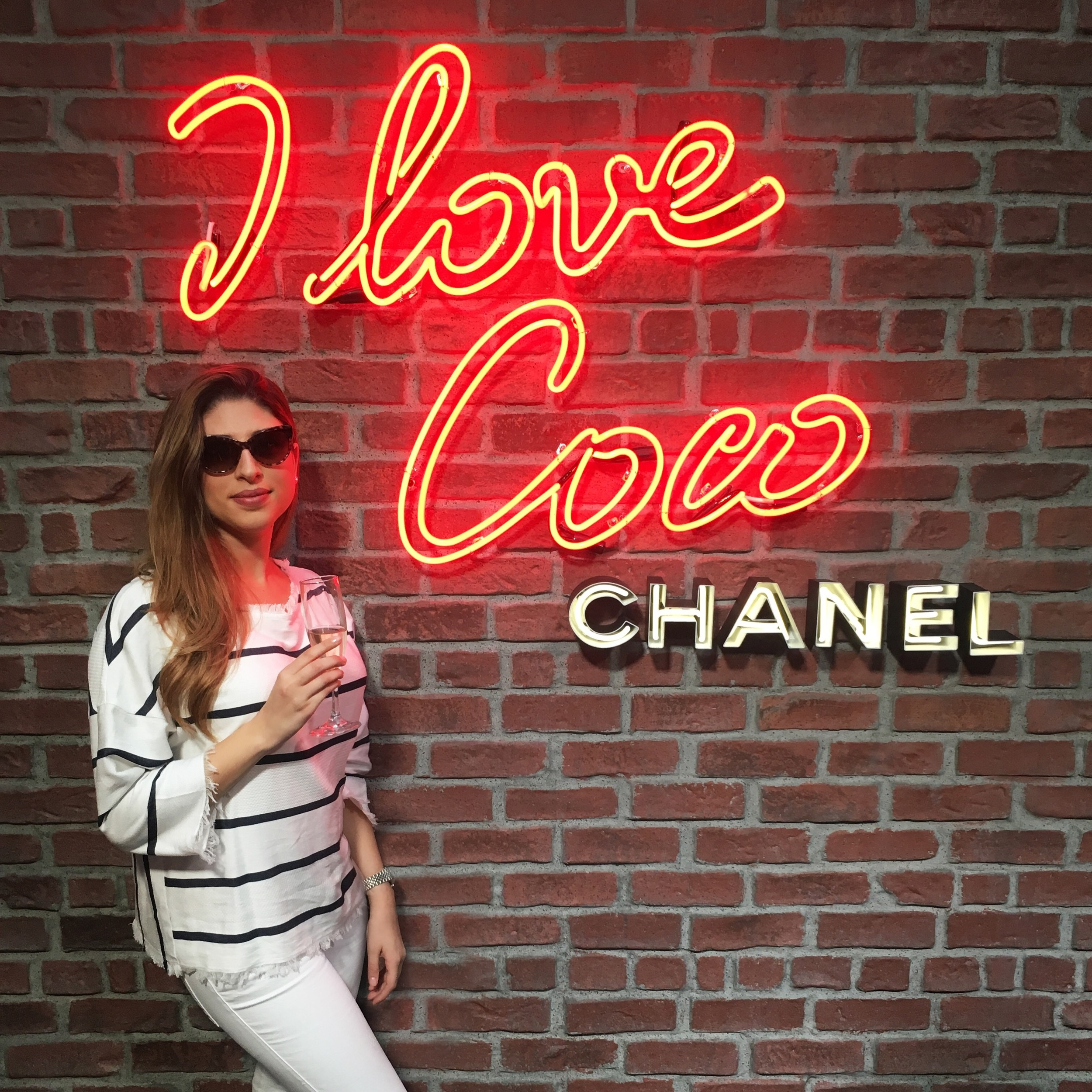 Mel Ronnie Chanel I Love Coco Loves LA