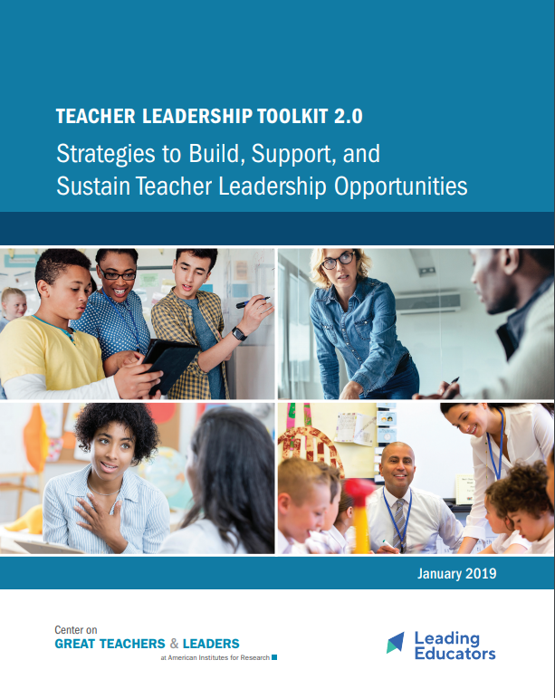A Roadmap for Strong Teacher Leadership