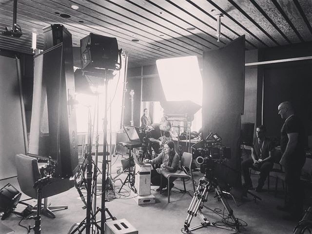 Taking over Facebook's offices. . . . . . #production #setlife #camera #grip #gripandelectric #lighting #teleprompter #crew #productionlife #film #eclectic
