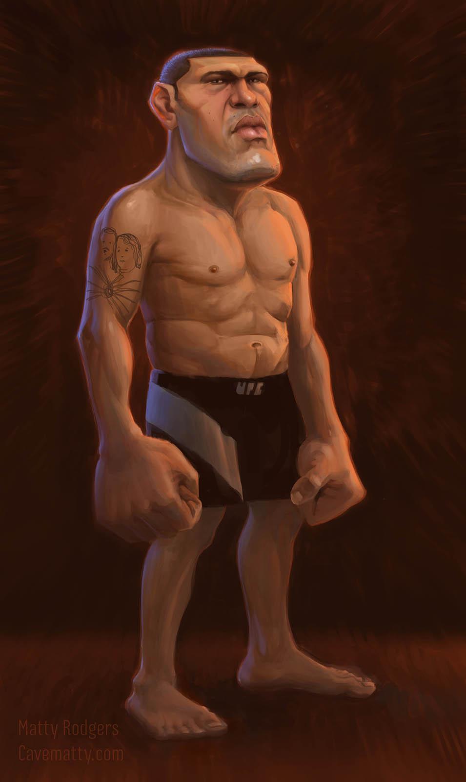 """Antonio """"Bigfoot"""" Silva"""