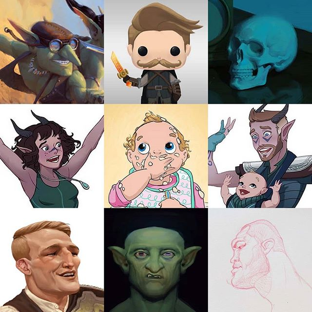 I dont normally do dese meme posts but this time I got sucked in! - - - - - - - - - - #faceyourart #faceyourart2019 #mattyrodgers #cavematty #art #artistoninstagram