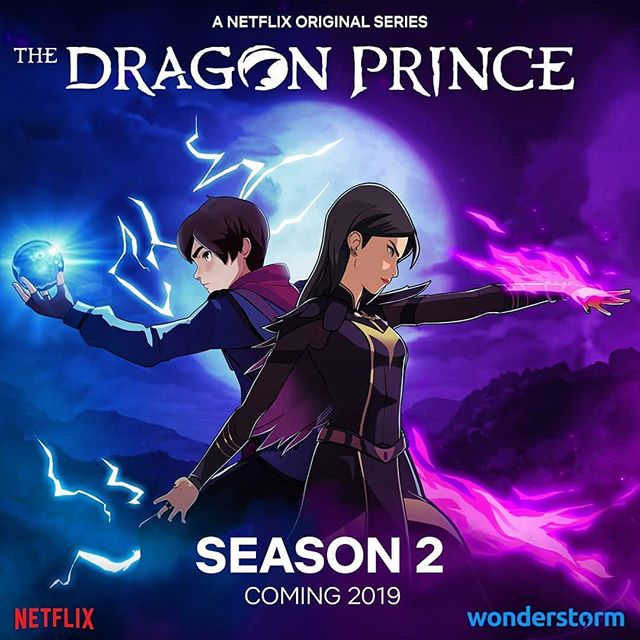 Ooh yeah, its official, Bait is back in 2019! Happy Thanksgiving Canada! - - - - - #dragon #dragonprince #bait #baitismybeau #wonderstorm #season2 #animation #netflix #hallelujah #thesecondcoming #hastalavista #bardelvibes