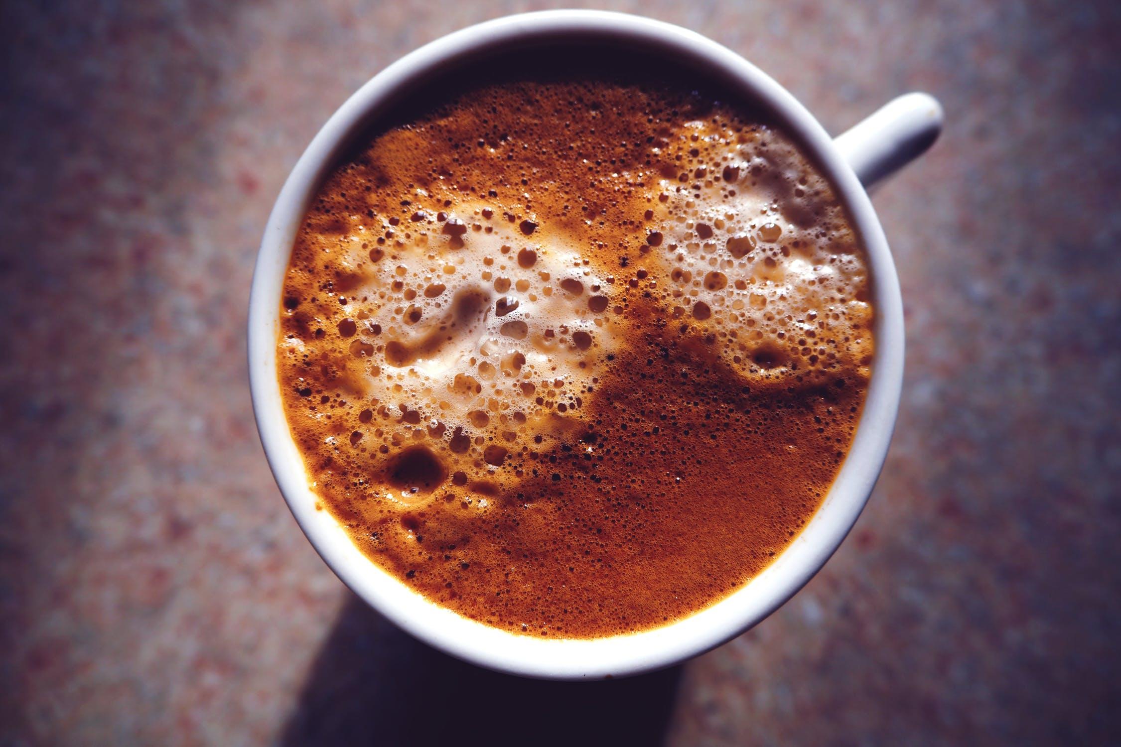 Chocolate Coconut Bone Broth Latte
