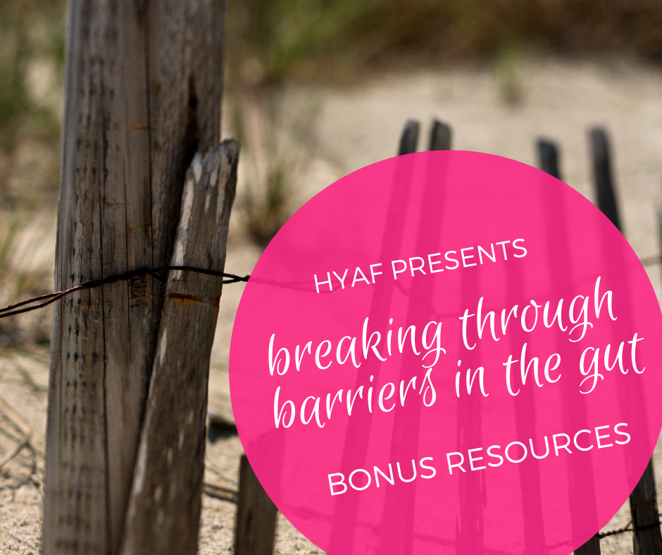 Break through barriers