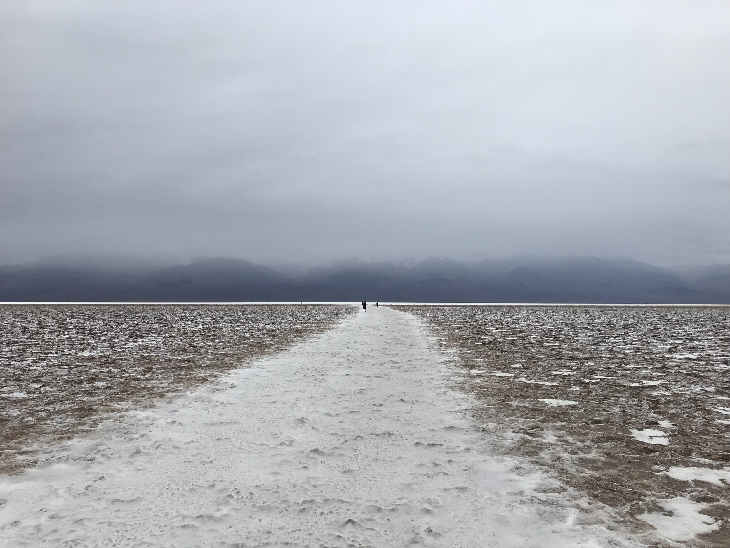 Walking to Badwater