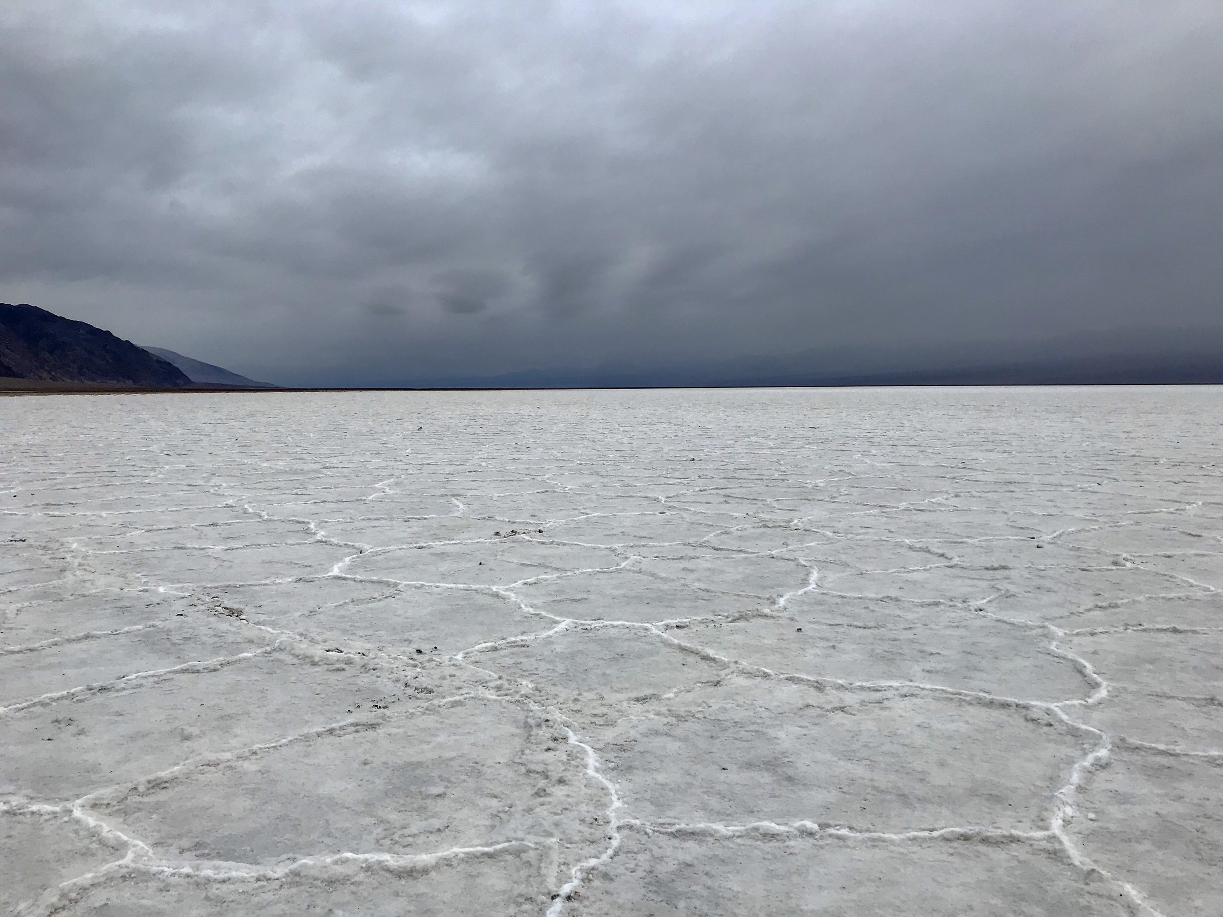 Storm Over Badwater Basin