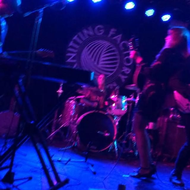 Such an incredible night! Thank you so much for coming out and jamming with us. Special thanks to @melissaandthemannequins and @the_living_strange for killing it @knittingfactorybk - Peace out until next time.