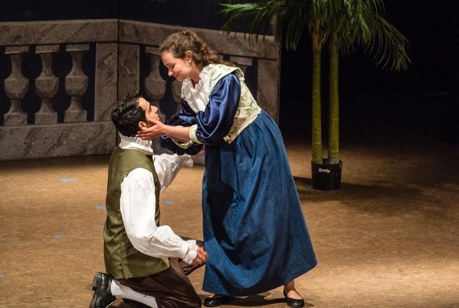 Hourihan as Susanna in  Le nozze di Figaro  with Hasan Ali Ozcan as Figaro.