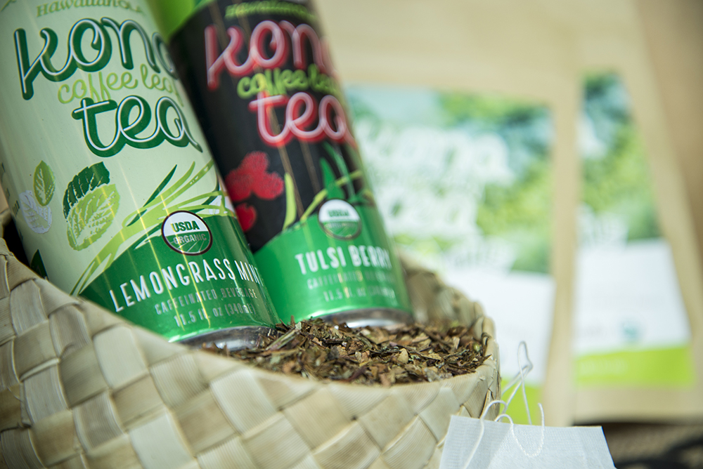 Available in two refreshing flavors: Lemongrass Mint and Tulsi Berry
