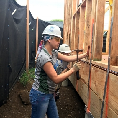 Honolulu Habitat for Humanity's Operations Manager has multiple ties to the organization - first as a home build partner family, and later as a Habitat employee.