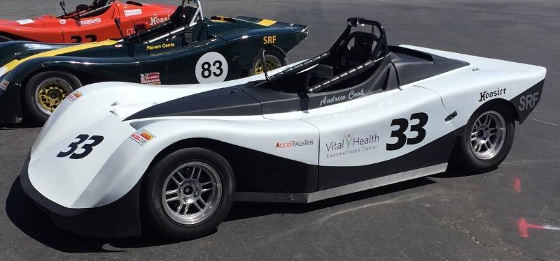 Spec Racer Ford Gen 2 Paint