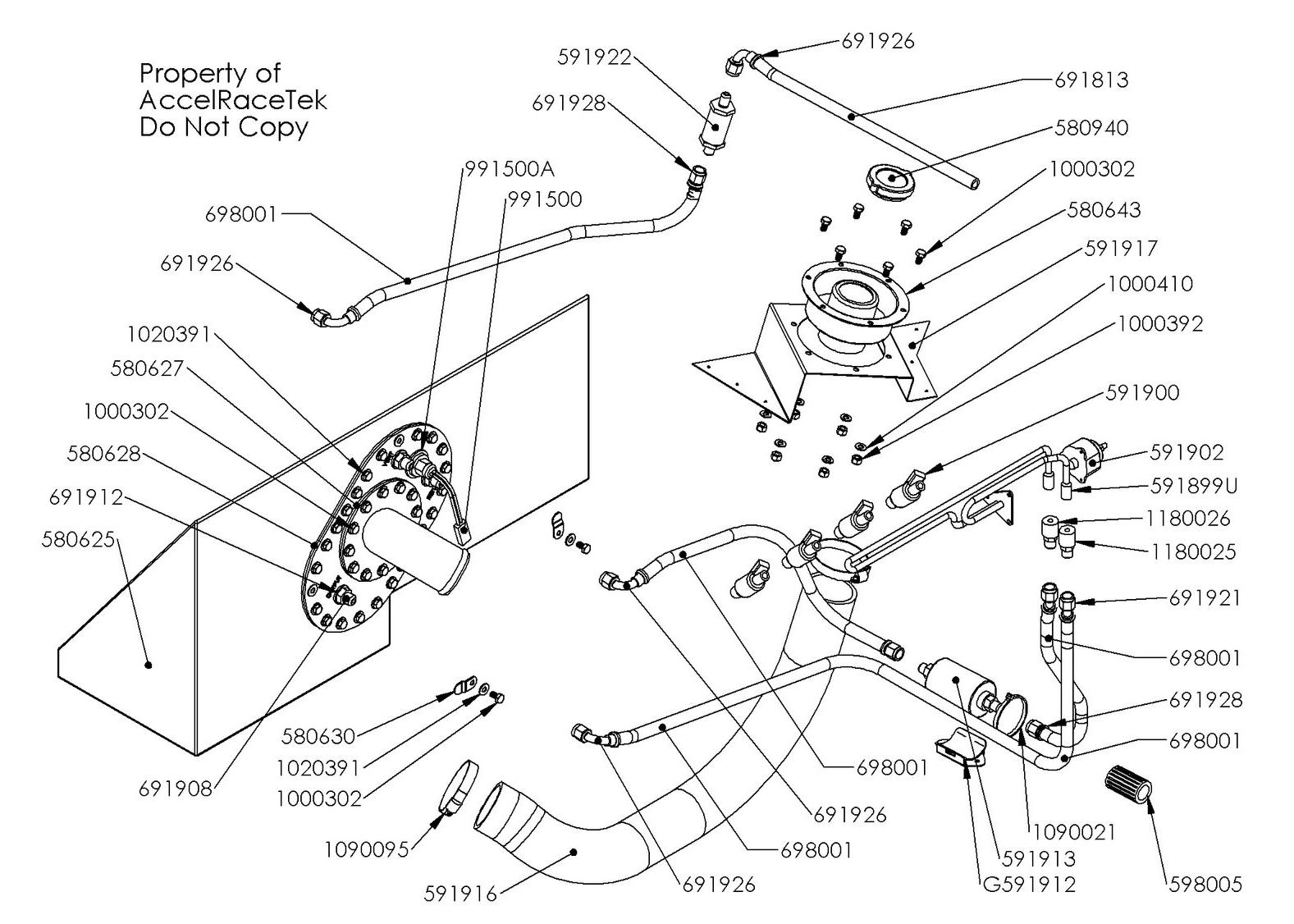 Spec Racer Ford Fuel System Gen 2